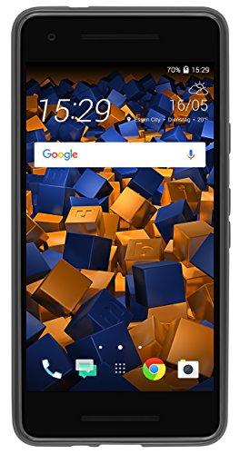 mumbi Schutzhülle für Google Pixel 2 Hülle transparent schwarz - 3