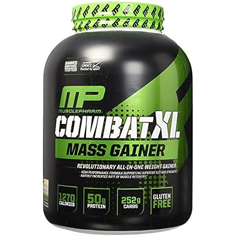 Muscle Pharm - combattimento XL Mass Gainer vaniglia - 6 lbs. - Mais Acqua Sciroppo