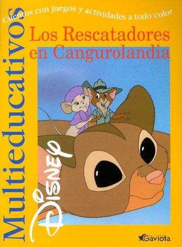 Los Rescatadores en Cangurolandia: Cuentos con juegos y actividades a todo color. (Multieducativos Disney)