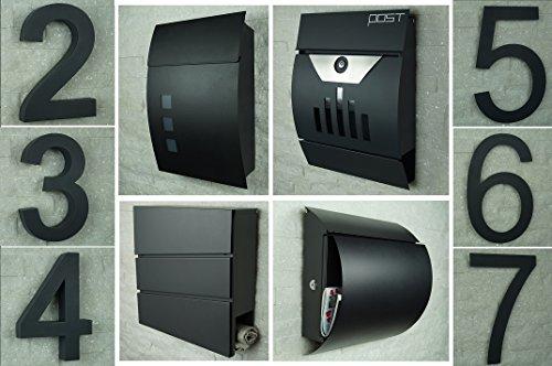 Design Briefkasten Anthrazit - 6
