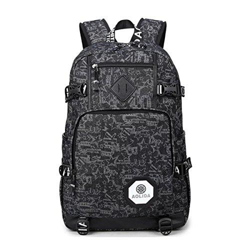 cute-lightweight-canvas-polka-dot-backpack-school-laptop-book-bag-rucksack-for-teen-girls-or-boys-bl
