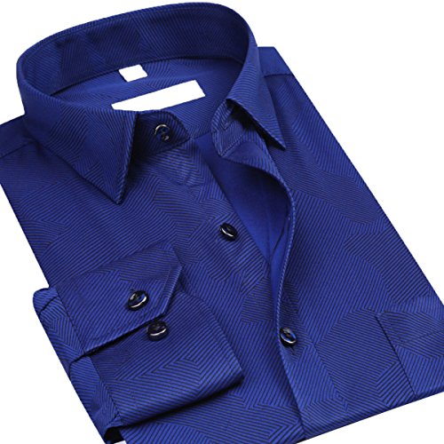 Men's Shirt Cotton Long Sleeved Loose Long Sleeve Shirt Print Shirt