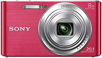 Sony DSC-W830P Appareil Photo Numérique Compact, 20.1Mpix, Zoom Optique 8x, Stabilisation Optique - Rose