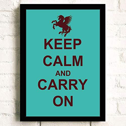 XWArtpic Cartel Citas motivacionales Crown Keep Calm