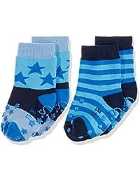 Sterntaler Baby-Jungen Socken Abs-Krabbelsöckchen Dp Sterne (2er Pack)