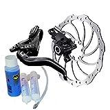 Magura MT4 Bremsenset, Bremse - Bremsscheibe - Centerlock-Adapter - Entlüftungs-Kit MT4, HC 160mm, Entlüftungs-Kit