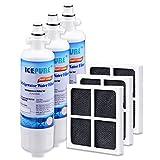 Best Filtros de agua del refrigerador Kenmore - Icepure RFC1200A Filtro 3 Pack de agua para Review