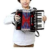 Dfghbn Fisarmoniche per Bambini Strumento Kids Toy Piano Percussioni Fisarmonica Musicale Musicali Fisarmonica Giocattolo Principiante Environmentally-Friendly Infanzia Sviluppo Fisarmonica