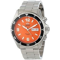 "Orient Herren CEM65001M ""Orange Mako"" Stainless Steel Automatic Dive Uhr"