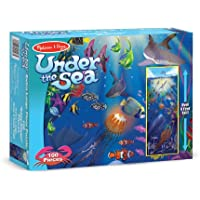 Melissa & Doug Under The Sea Jumbo Jigsaw Floor Puzzle (100 pcs, over 1 meter tall)