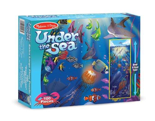 Melissa & Doug Under the Sea Floor Jigsaw Puzzle (100 Pieces)