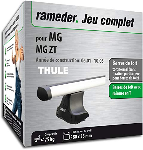 Rameder Pack Barres de Toit ProBar pour MG MG ZT (115755-05053-2-FR)