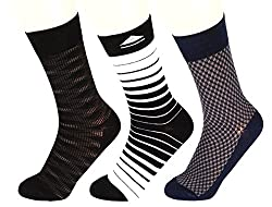 Abracadabra Mens Long Socks (Pack Of 3) (DNCS15013_Multi)