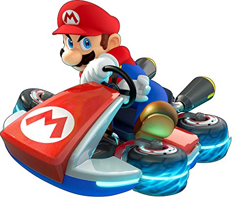 Stickersnews - Stickers Mario Kart réf 15070 Dimensions - 30 cm