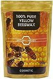 Natural Apiario® 100% pura cera de abejas Pellets–Pastillas de uso general, proyectos de DIY para hacer velas, rodillo, cristal, muebles polaco
