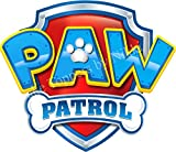 3 inch Paw Patrol Logo BLUE Precut Icing CakeToppers Easy Peel & Attach Fab For Birthday Cakes