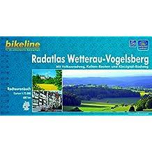 bikeline Radtourenbuch, Radatlas Wetterau Vogelsberg: Mit Vulkanradweg, Kelten-Routen und Kinzigtal- Radweg, 1 : 75 000, wetterfest/reißfest, GPS-Tracks Download