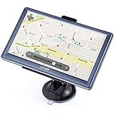 GPS Voiture LESHP Auto Cartographie Multi-langue Écran tactile 7 pieds (17.8 cm) Europe 45 Pays Mise à jour de carte gratuite