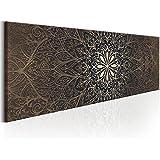 murando - Cuadro 135x45 cm - Abstraccion - Lienzo tejido no tejido - Impresion en calidad fotografica - Oriente Mandala f-A-0491-b-b