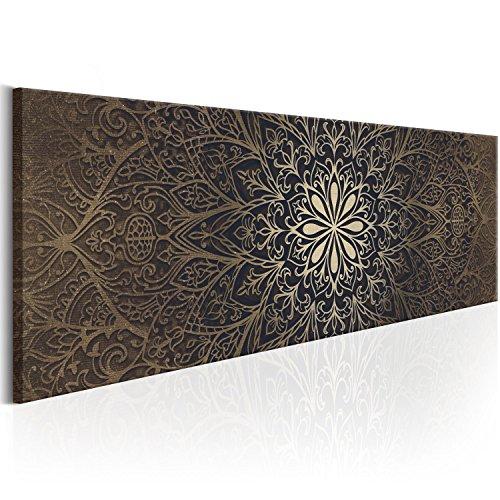 murando Bilder 135x45 cm - Leinwandbilder - Fertig Aufgespannt - Vlies Leinwand - 1 Teilig - Wandbilder XXL - Kunstdrucke - Wandbild - Orient Mandala f-A-0491-b-b