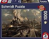Schmidt Spiele Lokomotive - Rompecabezas (Tradicional, Vehículos, Cualquier género, 373 x 272 x 57 mm)