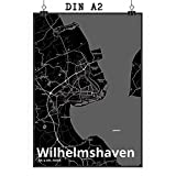 Mr. & Mrs. Panda Poster DIN A2 Stadt Wilhelmshaven Stadt
