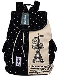 Greeniris mujer lona mochila viajes vintagecolegio mochila para niña