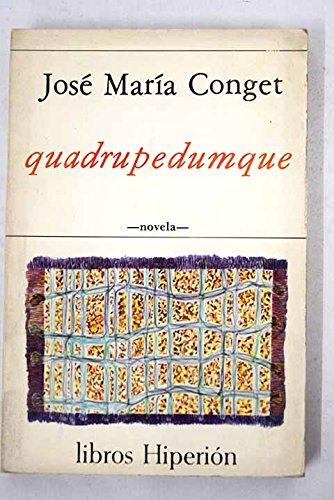 Quadrupedumque (Libros Hiperión) por José María Conget