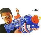 Negi Big Size Blaze Storm Soft Bullet Automatic Gun Toy with 40 Safe Soft Foam Bullets ( Bulletproof Glasses Included) (Soft Bullet Gun)