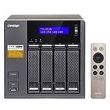 "QNAP TS-453A NAS Tower Ethernet LAN Black - NAS & Storage Servers (HDD, SSD, Serial ATA III, 2.5/3.5"", 0, 1, 5, 6, 10, JBOD, 1.6 GHz, Intel® Celeron®)"