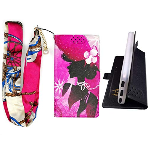 Lovewlb Hülle für Thomson Connect TH701 Hülle Flip PU-Leder + Silikon Cover Case Fest SN