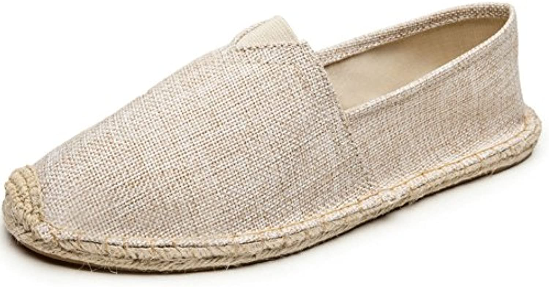 HAOYUXIANG Nuove scarpe scarpe scarpe di lino alla moda ventilazione uomini e donne scarpe di tela tessuto cucito a mano scarpa...   Stili diversi  b665ae