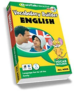 Vocabulary Builder English: Language fun for all the family - All Ages (PC/Mac)