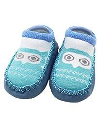 c873a9dfc17b5 ❤️Amlaiworld Cartoon Toddler Enfants Bébé Anti-dérapant Sock Chaussures  Bottes Pantoufle ...