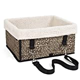 Pettom HUNDE TRANSPORTBOX HUNDEBOX Haustiertragetasche Kleintiere Box für Hunde Katzen Tragetasche Haustier Tragetasche Pet Travel tragbare Tasche Reise Trägerkäfig Airline Approved Weich Pet Carrier