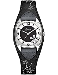 s.Oliver Damen-Armbanduhr Analog Quarz SO-1562-LQ