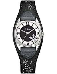 s.Oliver Damen-Armbanduhr Analog Quarz SO-1562-LQ