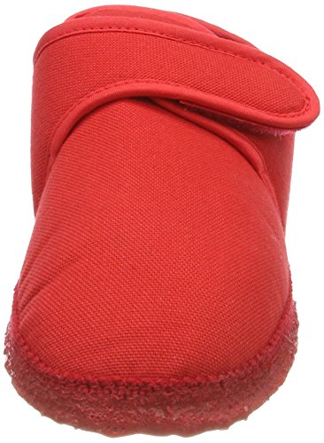 Nanga ottilie, Pantofole Donna Rosso (Rot)