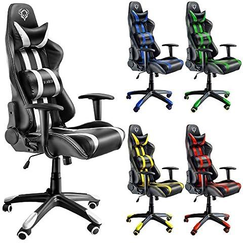 Diablo X-One Bürostuhl, Gaming Chair, Drehstuhl mit Armlehnen, Chefsessel, Gaming