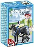 Playmobil - 5210 - Jeu de Construction - Dogue Allemand et son Petit