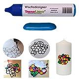 TrendLight  Wachsdesigner dunkelblau glänzend 30 ml inkl. ausführlicher Anleitung mit Bilder