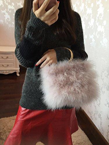 Zarapack - Borsetta senza manici donna Pink purple