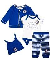 Brecrest Unisex Babywear Chelsea CH124 Unisex Baby Gift Set