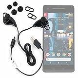 DURAGADGET Auricolari Sportivi in Ear Wireless - Ideale per Telefono Cellulare Google Pixel 2 - Pixel 2 XL | Haier V6 - Alta qualità