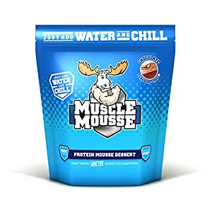 Muscle Mousse 750g White Chocolate Protein Dessert