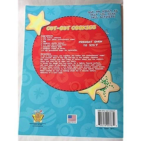 Happy Holidays 160 pagine Libro gigante da colorare e di attività, versione natalizia da elfo in Woodshop Bendon) - Happy Holidays Disegno