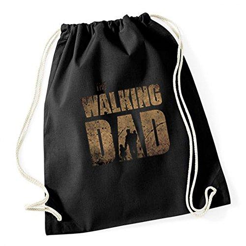 Certified Freak The Walking Dad Original Gymsack Black