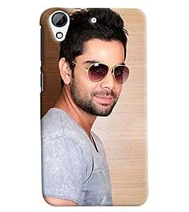 Omnam Virat Kohli Fans Printed Back Cover Case For HTC Desire 626