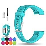 iFeeker Soft Silikon Ersatzsocken Uhrensocken für Garmin Vivosmart HR Plus
