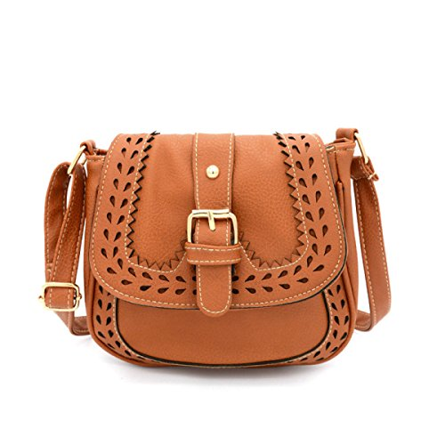 Frauen / Mädchen Gedruckt Hohle Shell Tasche Handtasche Schulter Messenger Bag Handtaschen Yellow